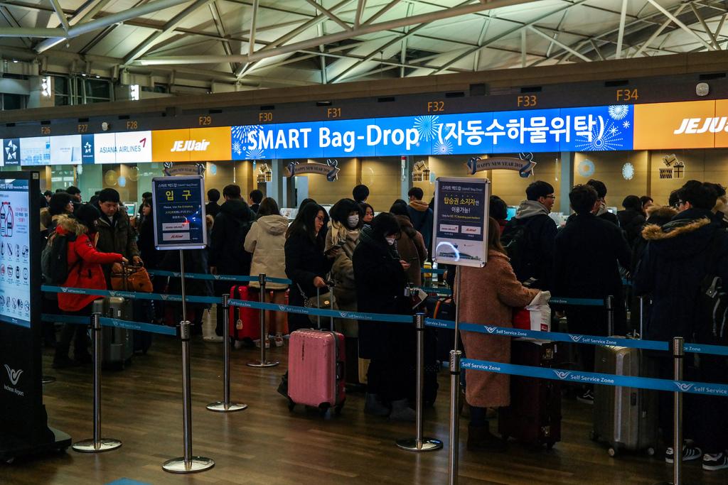 공항 내 장애인들이 사용 가능한 셀프체크인기기는 1%?